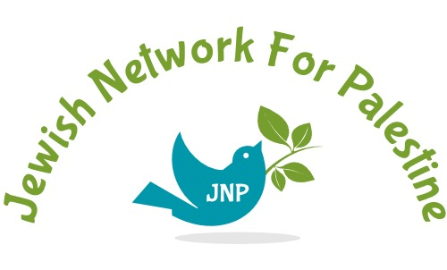 Jewish Network for Palestine with an image of peace dove